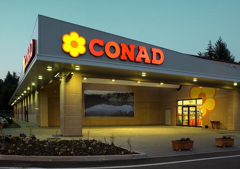 Conad adquiere el negocio de Auchan Retail Italia