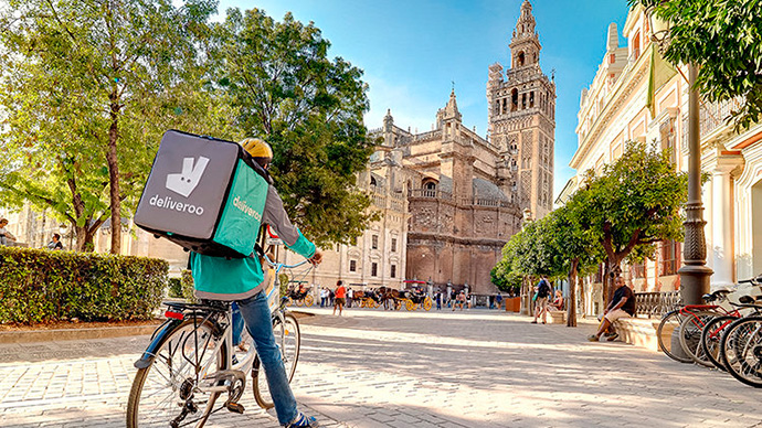 Amazon lidera la última ronda de financiación obtenida de Deliveroo