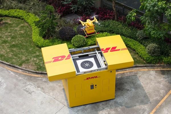 DHL Express comienza la entrega con drones automatizados en China