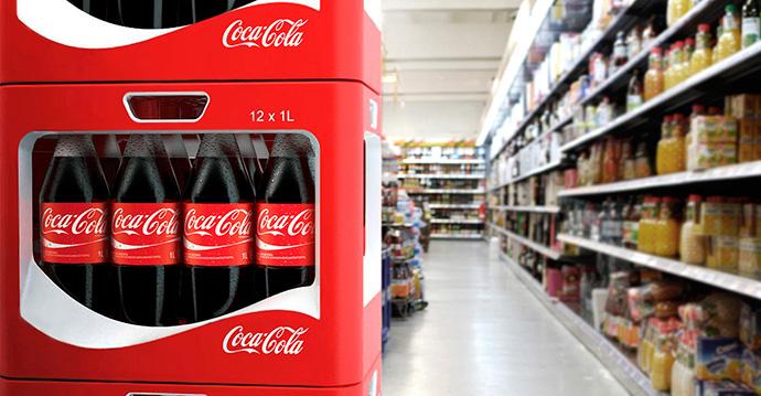 Coca-Cola, la marca de gran consumo más elegida por los hogares españoles en 2018