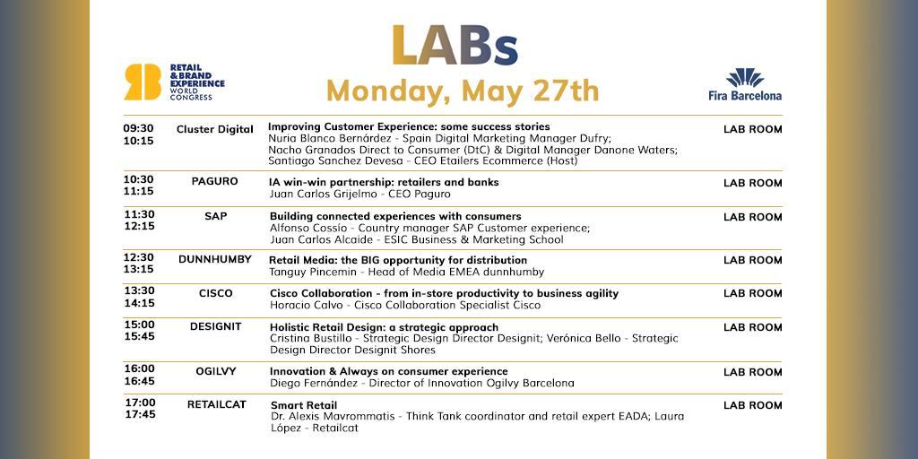 La agenda del lunes 27 de mayo en WREWC