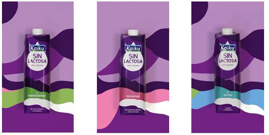 Kaiku Sin Latosa. Nueva imagen, logo y packaging