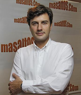 Antonio Fagundo, consejero delegado de Masaltos.com.