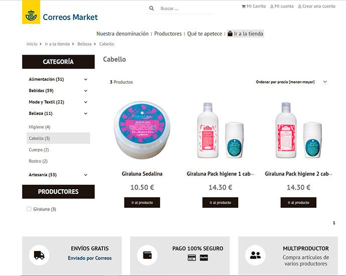 Correos Market. Un marketplace para apoyar el comercio local