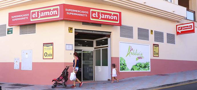 El Grupo El Jamón,  compra 23 supermercados DIA en Andalucía