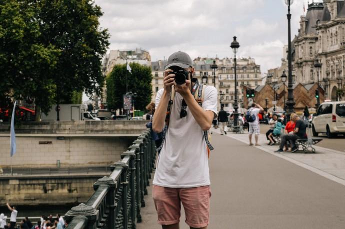 turista japonés
