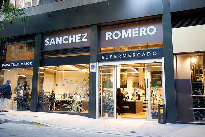Los supermercados Sánchez Romero consiguen un 9% más de ventas durante el primer cuatrimestre del año