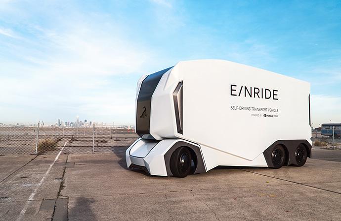 DB Schenker ha presentado T-Pod, un camión autónomo eléctrico de nivel 4