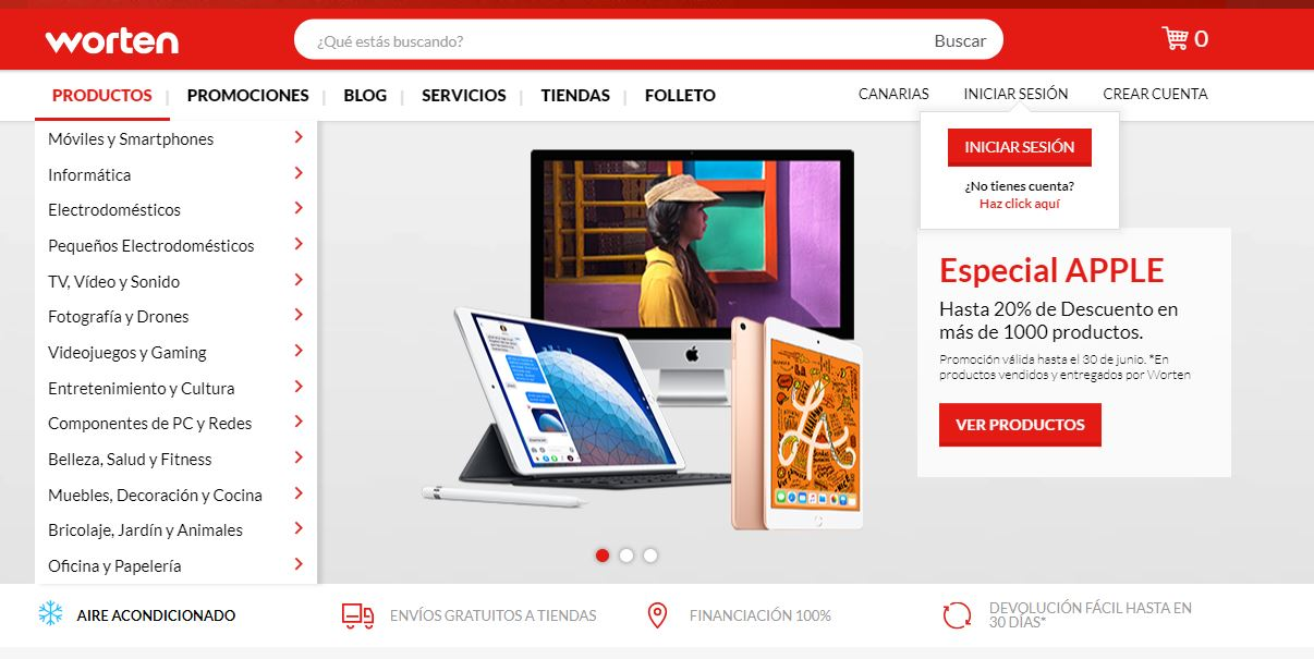 Worten lanza su marketplace con 700.000 referencias