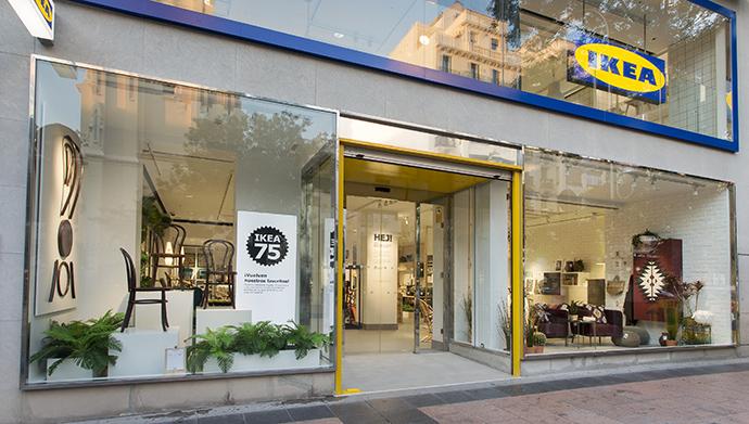 Este establecimiento, que está especializado en muebles de salón, ha sido escenario de diferentes pruebas piloto a nivel global. (Foto: exterior tienda de Goya).