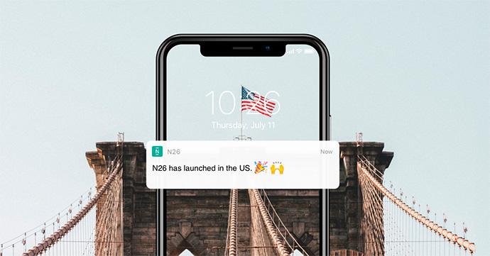 N26 comenzará a operar en Estados Unidos