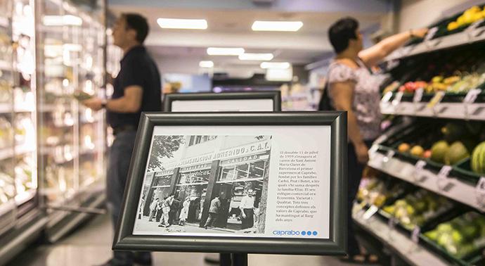 El primer supermercado Caprabo cumple 60 años