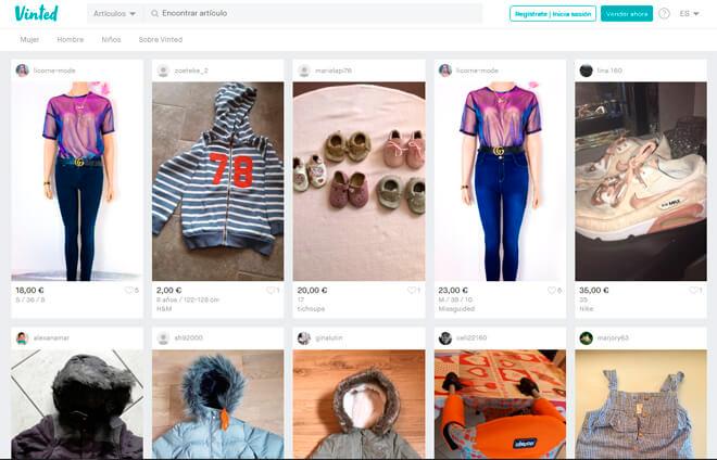 Privalia, Vinted y H&M. Las apps del sector moda con más ventas