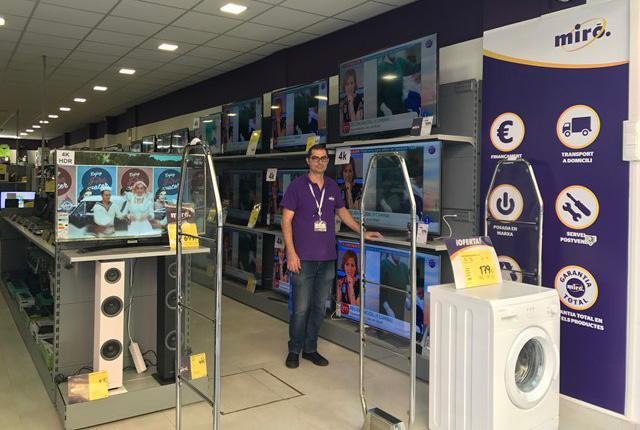 La cadena de electrodomésticos Miró ofrece a los usuarios el pago aplazado