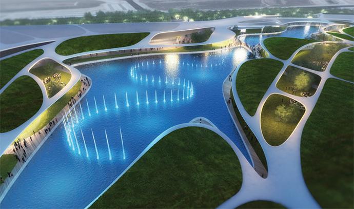 El nuevo centro madrileño cuenta con una superficie de 90.000 metros y cuadrados, con 114 locales.