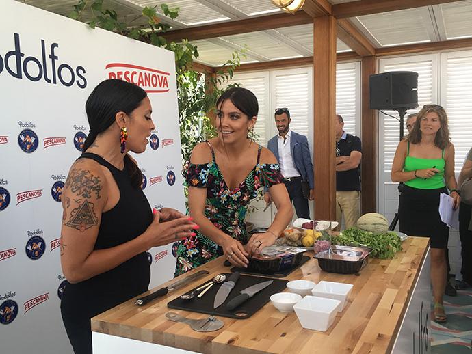 """Pescanova. Cristina Pedroche toma el relevo de """"Rodolfo Langostino"""""""