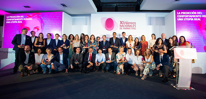 Galardonados en la XI edición de los Premios Nacionales de Marketing