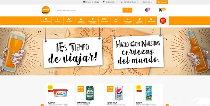 La tienda online de Consum se expandirá a otras poblaciones
