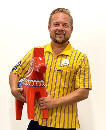 Linus Frejd, nuevo director en IKEA Málaga