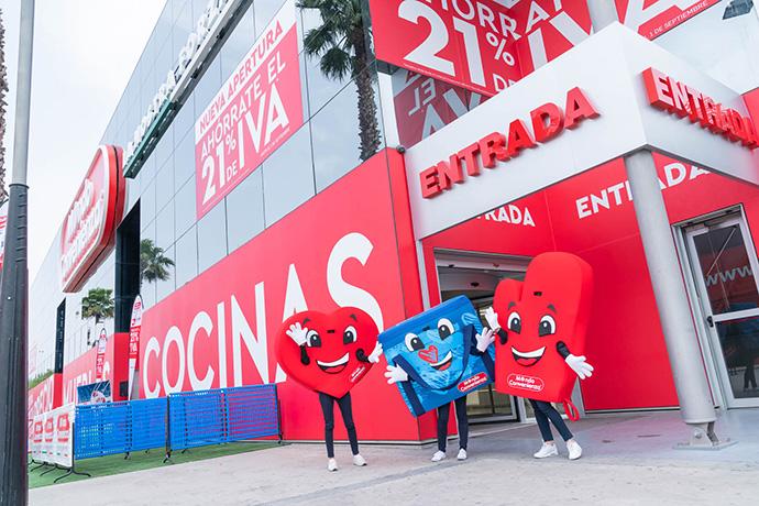 Con esta apertura ya son tres los establecimientos de Mondo Convenienza en España