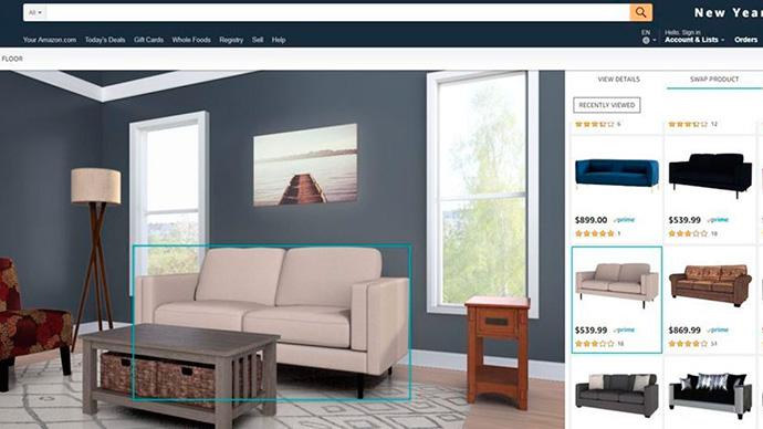 Amazon Showroom complementa a Discover y AR View, otras dos herramientas del marketplace