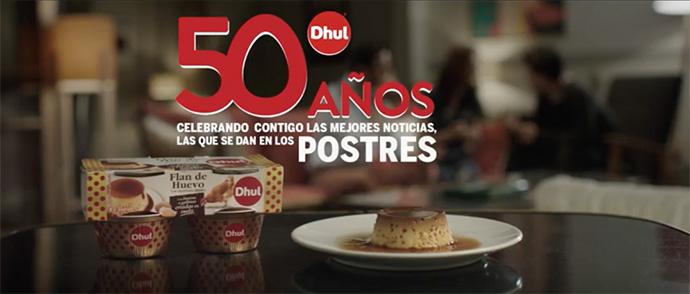 La marca de postres Dhul lanza una campaña digital centrada en el momento del postre