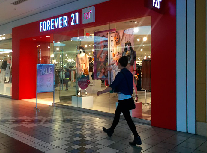 Forever 21 ha confirmado en una carta a sus consumidores su decisión de acogerse al capítulo 11 de la ley de quiebras de Estados Unidos