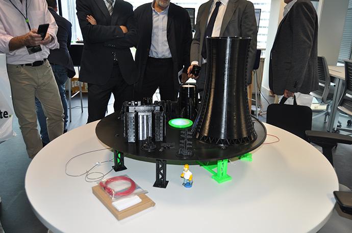 Prototipo de una central nuclear, una infraestructura tipificada como crítica