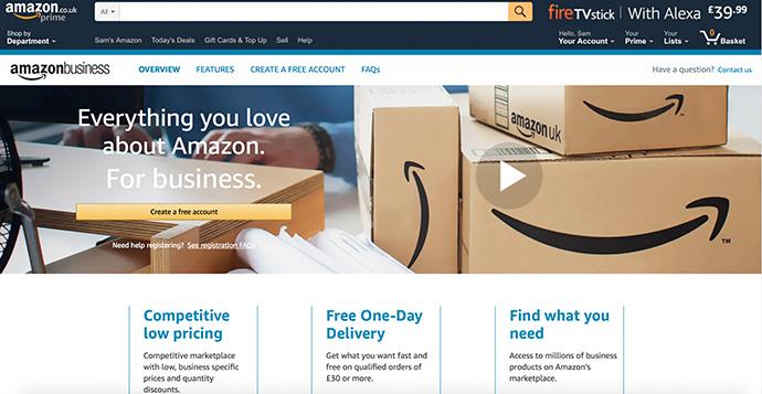 Amazon Business, el marketplace B2B de Amazon, reúne 230 millones de referencias