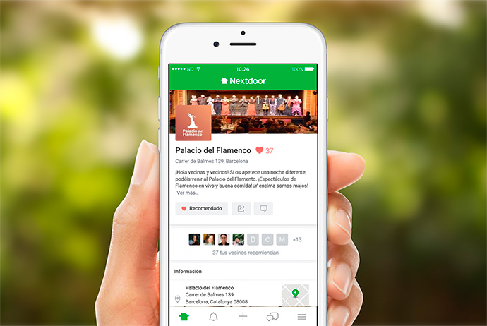 El comercio local, con presencia digital a través de Nextdoor