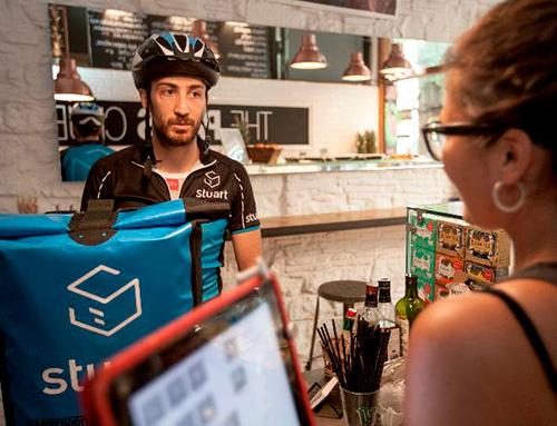 Stuart propone la entrega programada en el punto de venta físico