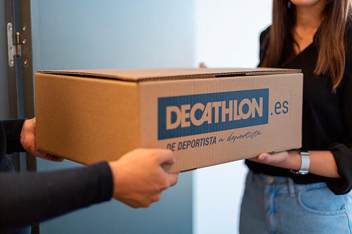 Decathlon se une a la entrega de pedidos en dos horas