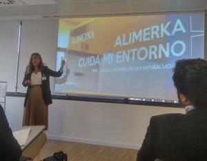 La responsable de calidad de Alimerka, Paula Díaz-Caneja.