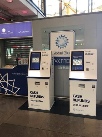'Cajeros automáticos' de devolución del IVA en el  Aeropuerto Madrid-Barajas