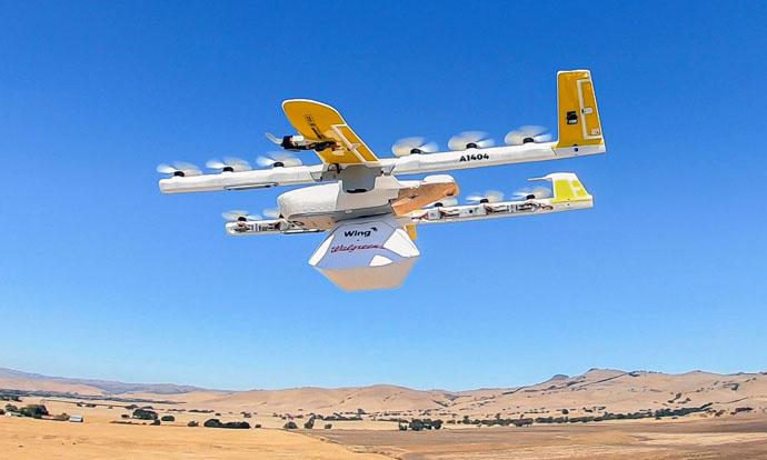 Walgreens, con FedEx y Wing, comienza con el reparto a domicilio con drones