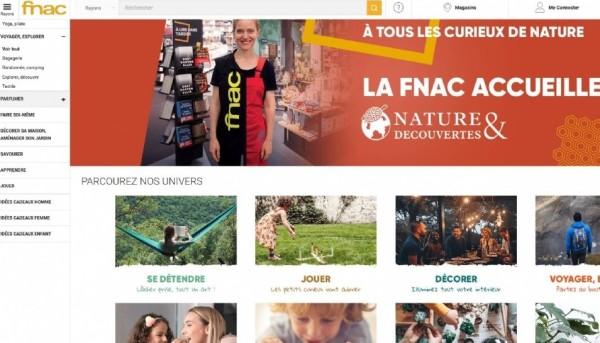 """Fnac Darty, buen trimestre y nuevos espacios """"Nature & Découvertes"""""""