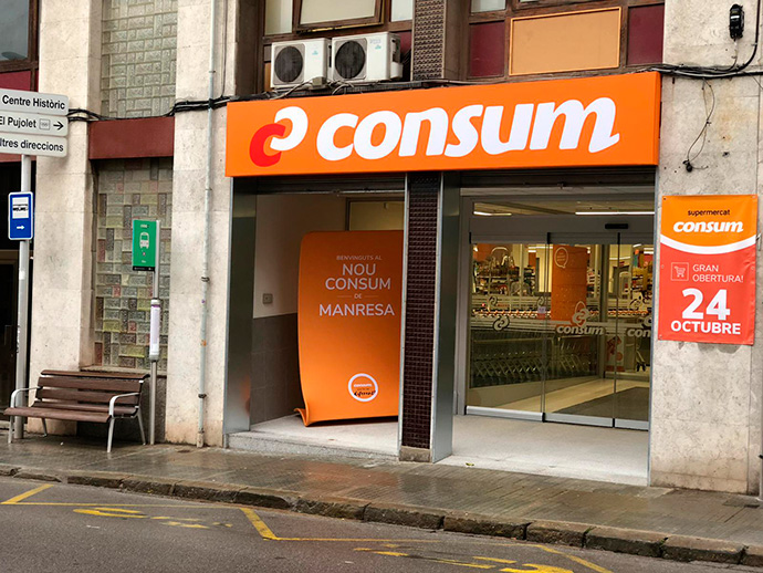 Aldi y Consum han inaugurado dos establecimientos en la provincia de Barcelona