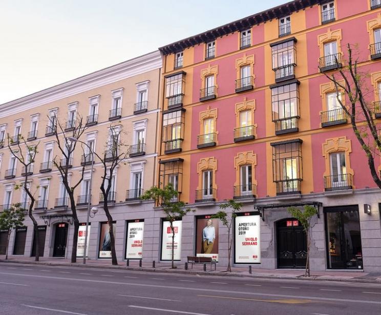 Uniqlo abrirá su primera tienda en Madrid el 17 de octubre en la calle de Goya, nº 6, a escasos metros de Zara