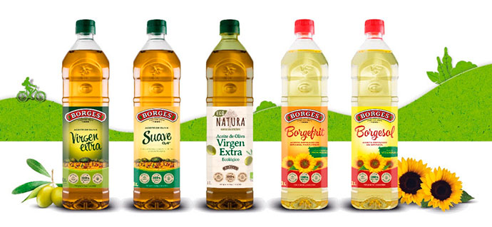 Borges, lanza la primera botella de aceite rPet con un 25% de plástico reciclado