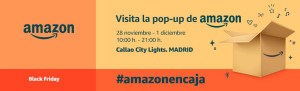 amazon pop up store