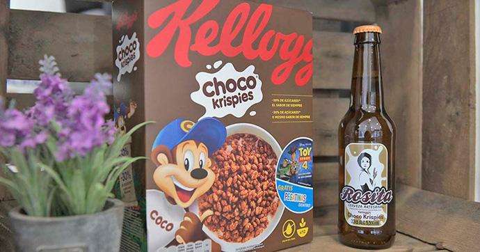El arroz de los Choco Krispies, en una cerveza artesana