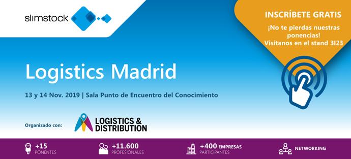 Slimstock, en Logistics Madrid. Punto de Encuentro del Conocimiento