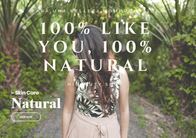 La cosmética natural gana terreno. Hibeauty crece un 20% en ventas