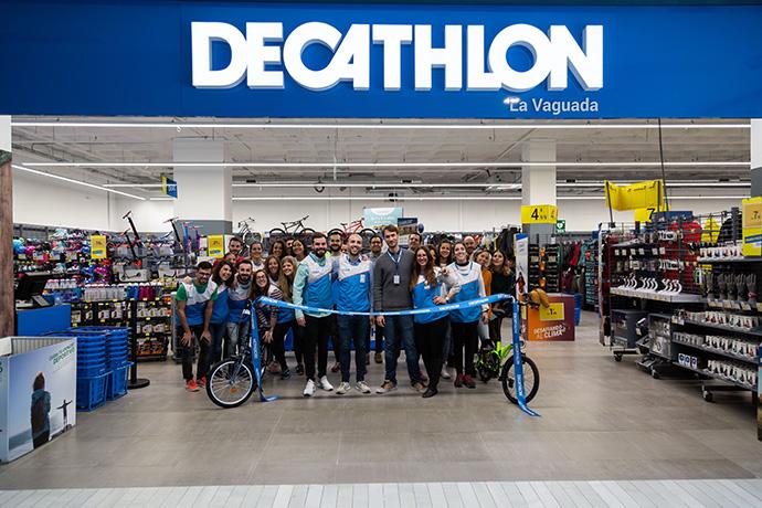Decathlon, estrena su renovada tienda en La Vaguada