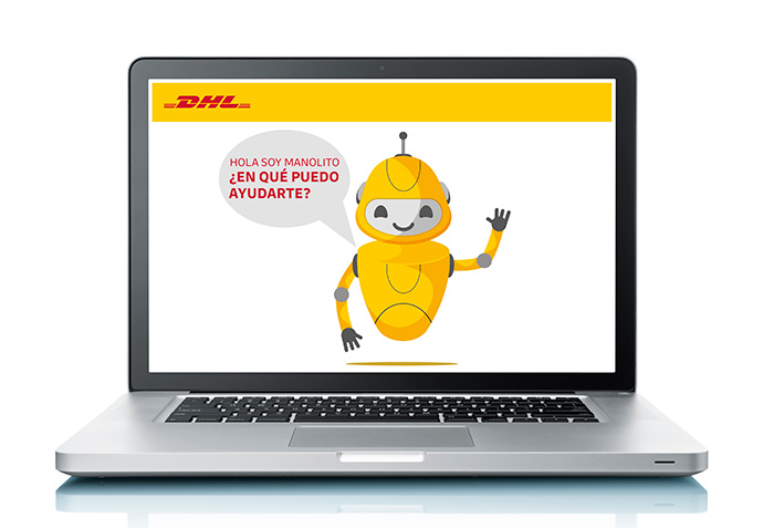 Manolito, el robot de DHL que ayuda en la gestión de pedidos