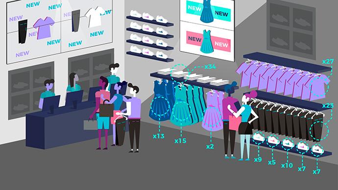 El motor de inteligencia artificial desarrollado por Beabloo permite la automatización de la gestión del contenido de las pantallas digitales