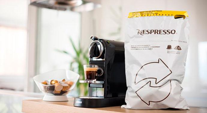 Nespresso será 100% sostenible en 2020