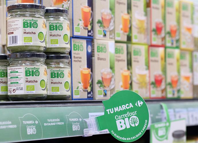 Carrefour supera las 300 referencias en su marca de productos ecológicos