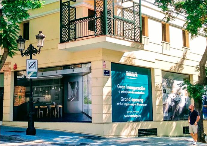 Mobalpa apuesta por el mercado español y abre su tercera tienda en Marbella
