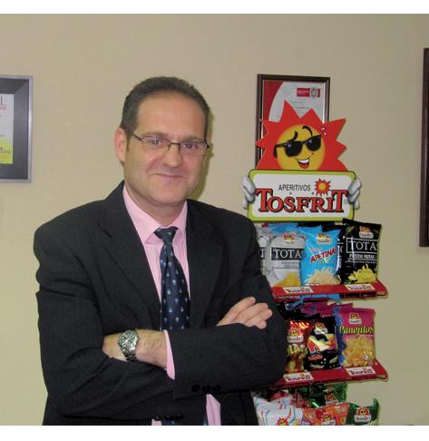 Juan Manuel Fernández, nuevo presidente de la Asociación de Snacks